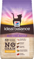Hill's Ideal Balance Feline - Mature Adult No Grain with Chicken and Potato 1.5 kg