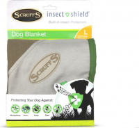 Insect Shield Dog Blanket L