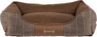 Scruffs Windsor Box Dog Bed Brown L