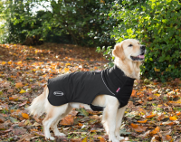 Scruffs Thermal Dog Coat  Black L order cheap