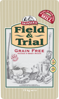 Skinner's Field & Trial Grain Free Poulet & Patate Douce 2.5 kg, 15 kg
