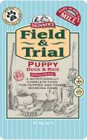 Skinner's Field & Trial Puppy Duck & Rice 15 kg, 2.5 kg