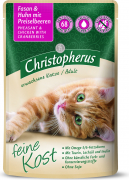 Feine Kost - Pheasant & Chicken with Redberry for Adult Cats Pouch 85 g