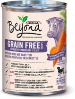 Beyond grain-free rich in Beef with Carrots 400 g