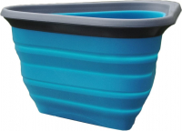Kurgo Mash & Stash Collapsible Dog Bowl, Azul 700 ml