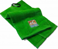 Mud Dog Travel Towel Groen