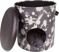District 70 Bucket Dash  Gris foncé 35x35x40 cm