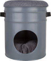 District 70 Bucket Mono Gris foncé 30x30x37 cm