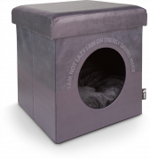 District 70 Box Lazy Gris foncé