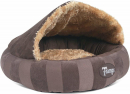 Scruffs Tramps AristoCat Dome Bed, marron