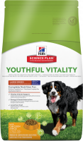 Hill's Science Plan Canine - Adult 5+ Youthful Vitality Large Breed con Pollo & Arroz 10 kg