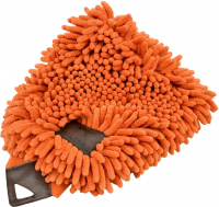 Grooming Mitt orange Neon oranje