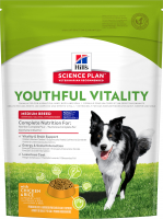 Hill's Science Plan Canine - Adult 7+ Youthful Vitality Medium Breed con Pollo & Arroz 750 g