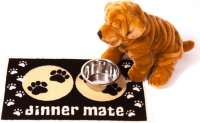Pet Rebellion Dinner Mate Schwarz  40x60 cm Schwarz