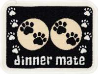 Pet Rebellion Dinner Mate Schwarz Mini  30x40 cm Schwarz
