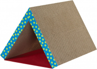 Petstages Fold Away Scratching Tunnel Brun clair