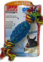 Petstages Orka Pine Cone Chew  Azul claro