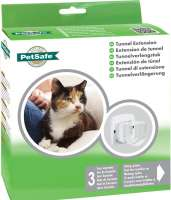 PetSafe Staywell Tunnel d'Extension pour Chatière 300, 400, 500  Blanc