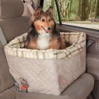 PetSafe Solvit Deluxe Pet Safety Seat  Taupe 56x43x43 cm