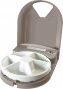 Eatwell 5 Meal Pet Feeder Lichtbruin