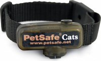 Deluxe In-Ground Cat Fence Ontvangershalsband Zwart