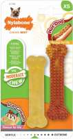 Moderate Chew Twin Pack Hot Dog & Ice Cream, XS XS  von Nylabone online günstig kaufen