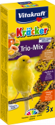Cracker Trio-Mix Egg/Fruits/Honey 80 g