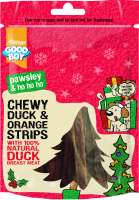 Armitage Pet Care Good Boy Chewy Strips with Duck & Orange 100 g køb rimeligt og favoribelt med rabat