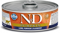 Farmina N&D Pumpkin with Lamb & Pumpkin & Blueberry 80 g osta edullisesti