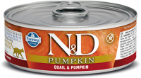 Farmina N&D Pumpkin with Quail and Pumpkin 80 g test