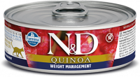 Farmina N&D Quinoa Weight Management Agnello 80 g
