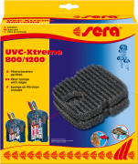 Filter Sponge with Ridges for UVC-Xtreme