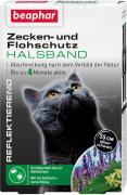 Flea and Tick Reflective Collar for Cats Zwart