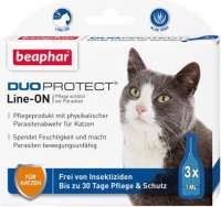 Beaphar Duoprotect Line-ON pour chats 3x1 ml