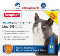 Beaphar Duoprotect Line-ON pour chats  9x1 ml