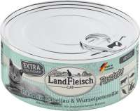 Landfleisch Cat Adult Pate with Beef, Cod and Parsley Root 100 g