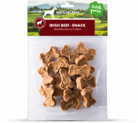 Irish Pure Mini Bones Dog Snacks with Beef 150 g con uno sconto