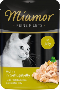 Miamor Feine Filets Chicken in Poultry Jelly 100 g