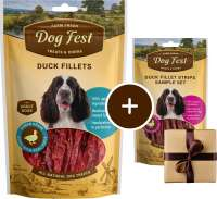 Dog Fest Filetti di Anatra + Regalo: Filetti di Anatra 90+25 g con uno sconto