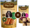 Dog Fest Filete de Pollo en Palitas Masticables + Regalo: Filetes de Pato 90+25 g
