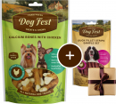 Dog Fest Small Breeds Kalsiumbein med Kyllig + Gave: Andefiletskiver 55+25 g