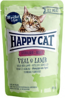 Happy Cat All Meat Adult Sterilised Veal & Lamb 85 g