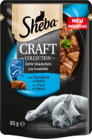 Sheba Craft Collection delicate Slices with Tuna in Gravy 3065890139138 kokemuksia
