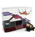 Ferret cages and sleeping places