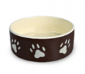 Porcelain bowl for dogs