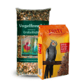 Large parakeet bird food