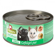GranataPet DeliCatessen Gato Alimento Húmedo Kitten Aves de Corral pur 6x100 g