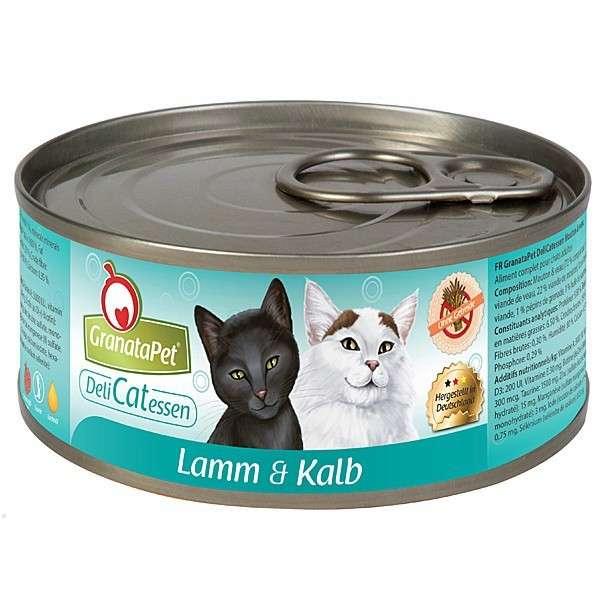 GranataPet DeliCatessen Lamb & Vasikanliha 6x100 g