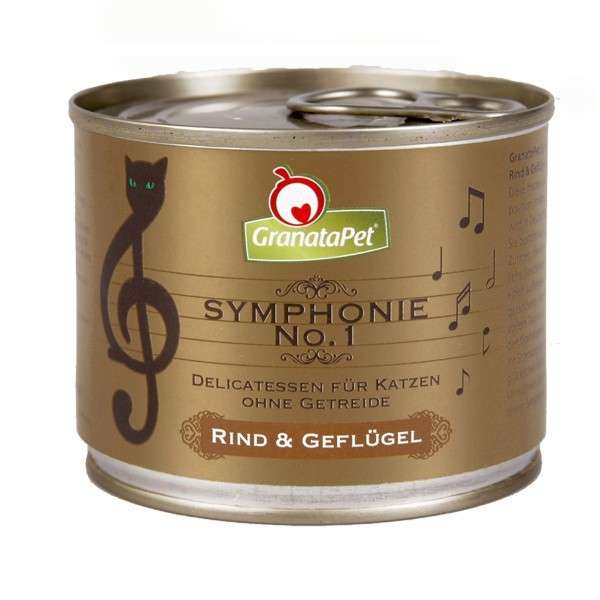 GranataPet Symphonie Nr. 1 Beef & Poultry 200 g buy online