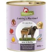 GranataPet Liebling's Mahlzeit Gibier & Buffle 800 g - Nourriture sans gluten pour chiens